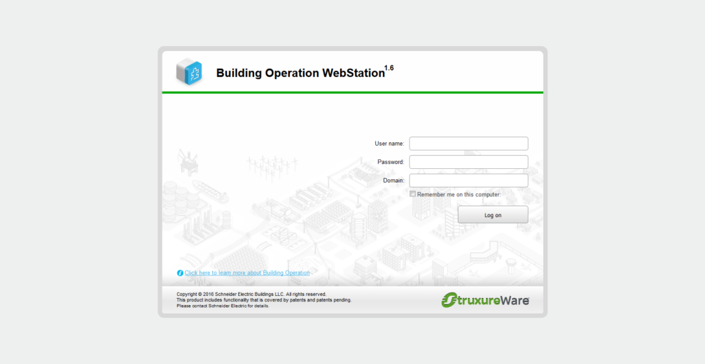Building Operation WebStation